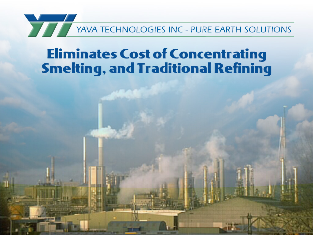 Eliminates Cost of Refining
